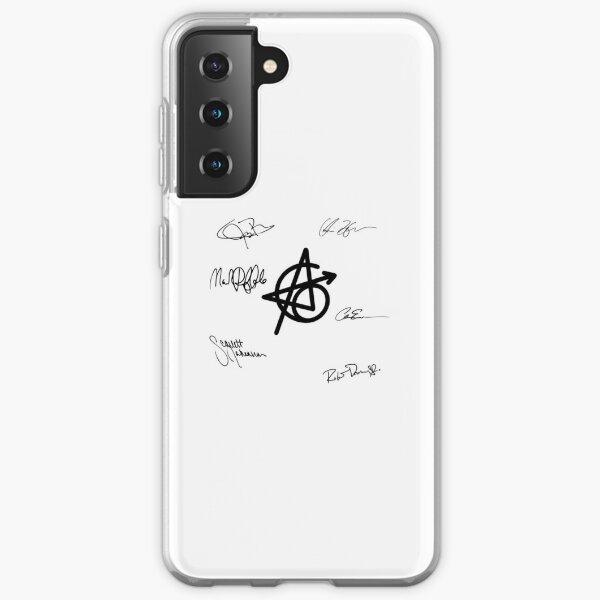 Original 6 Superhero Signatures with Symbol Samsung Galaxy Soft Case