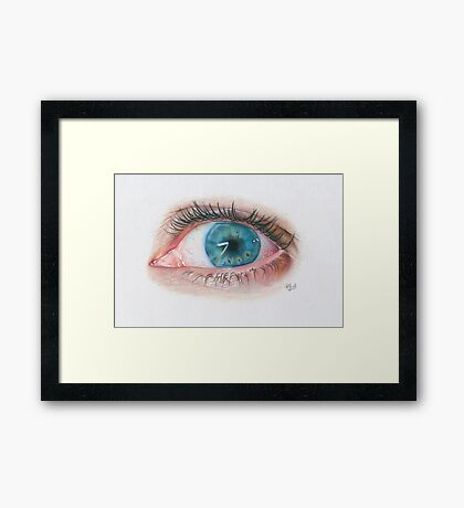 Window to my Soul Framed Print