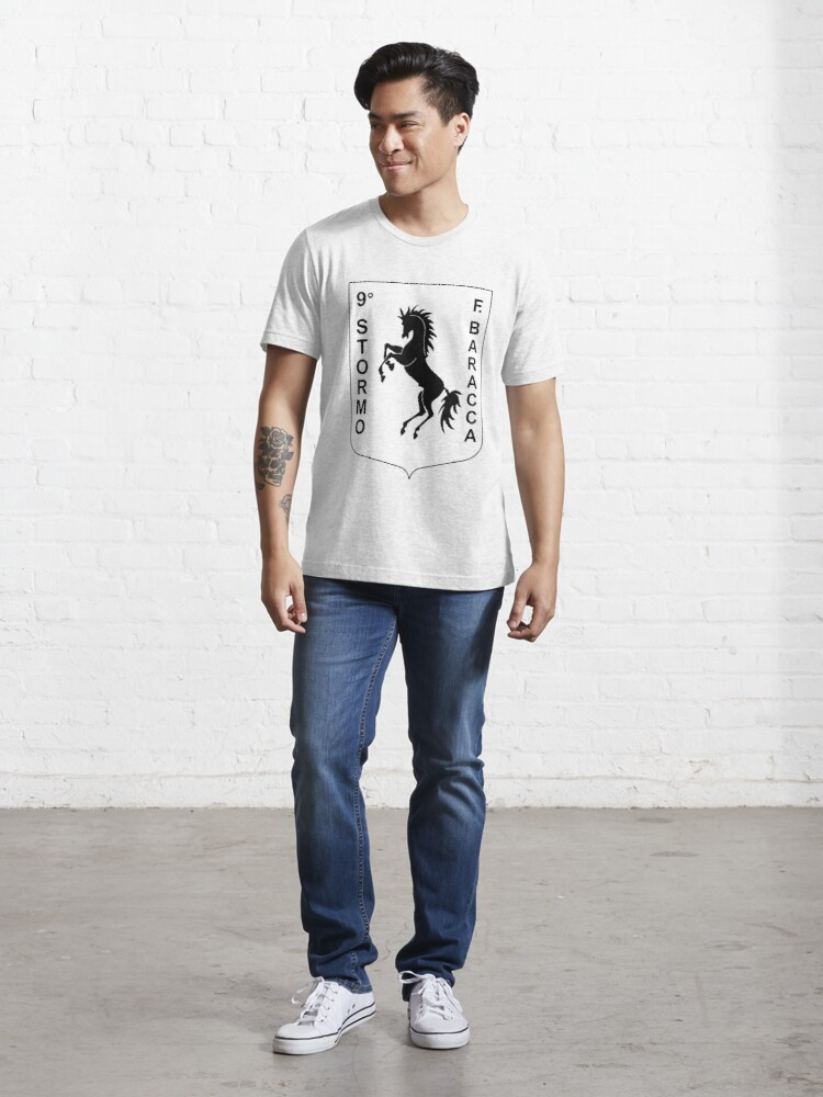 Alternate view of Model 120 - 9º Stormo Essential T-Shirt