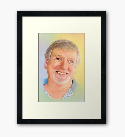 Tribute to The Auld Yin Framed Print