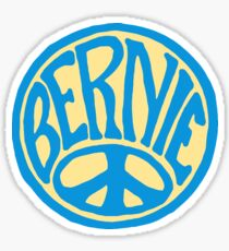 Peace Bernie! Sticker