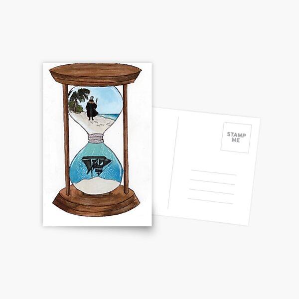 "TSMGO The Tempest ""Hourglass"" by Carly Sponzo Postcard"