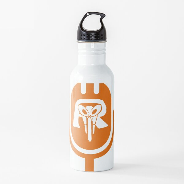 Kamen Ride With Me Mic Halloween White  Water Bottle