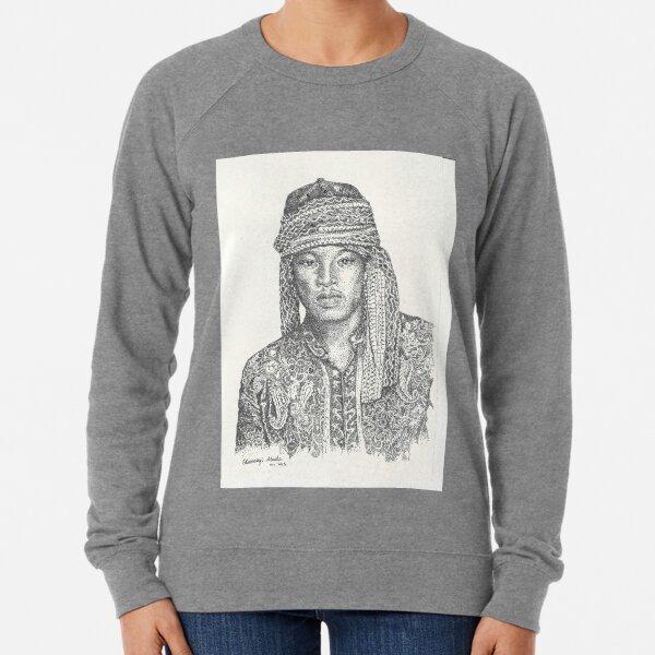 Gaze of a Man pointillism Lightweight Sweatshirt