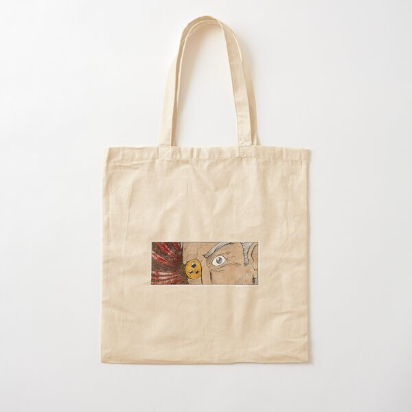 SHEARS...HE'S A BAD GUY (DISTRESSED) Cotton Tote Bag