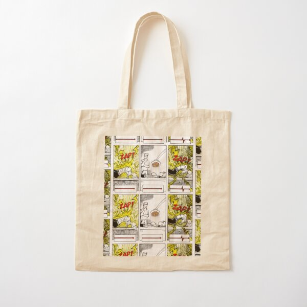 RESUSCITATION (DISTRESSED) Cotton Tote Bag