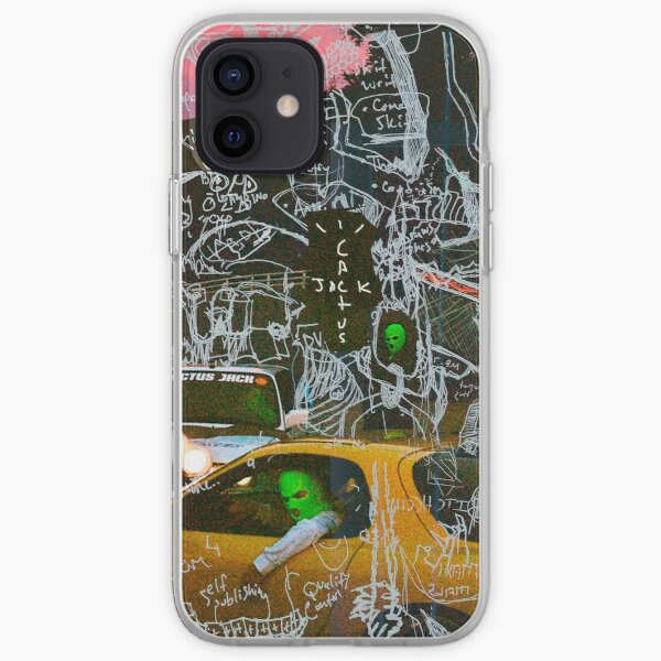 Cactus jack Funda blanda para iPhone