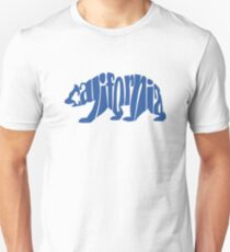 Blue California Bear T-Shirt