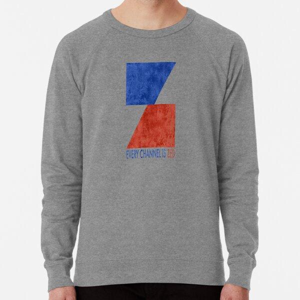 EVERY CHANNEL IS ZED (DISTRESSED) Lightweight Sweatshirt