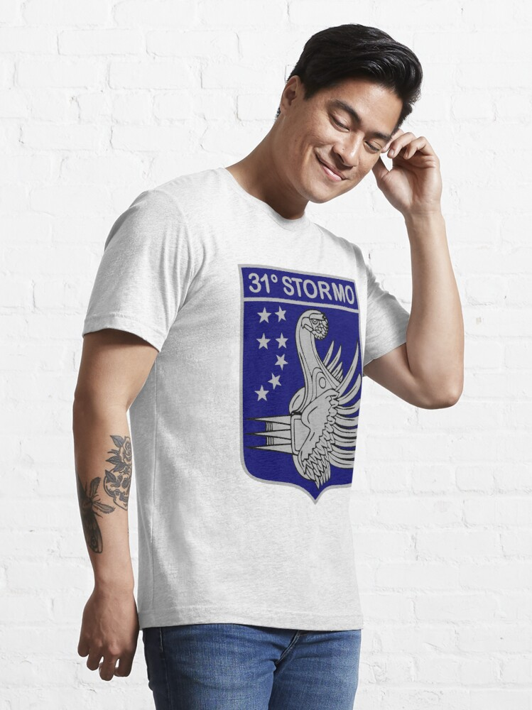 Alternate view of Model 123 - 31º Stormo Essential T-Shirt