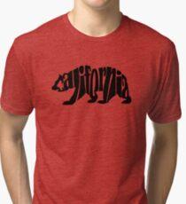 black california bear Tri-blend T-Shirt