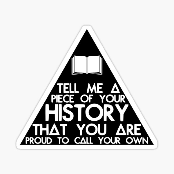 Can You Fill The Triangle? Sticker