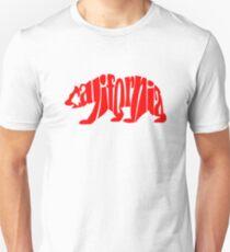red california bear T-Shirt