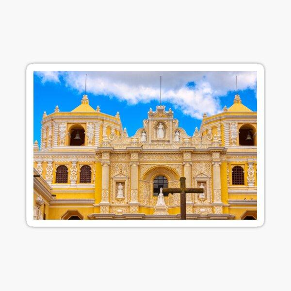 Cathedral in Antigua, Guatemala Sticker