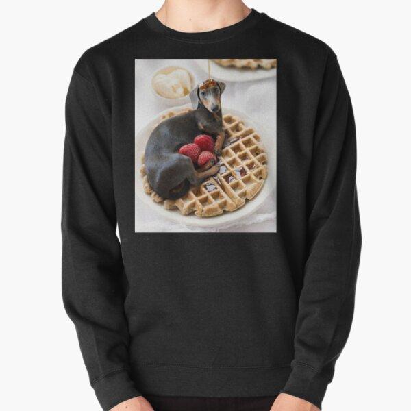 Wurst Hund Dackel Waffel Pullover