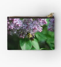 Collecting Nectar from the Lilacs Studio Pouch