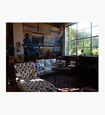 Monet's studio Photographic Print