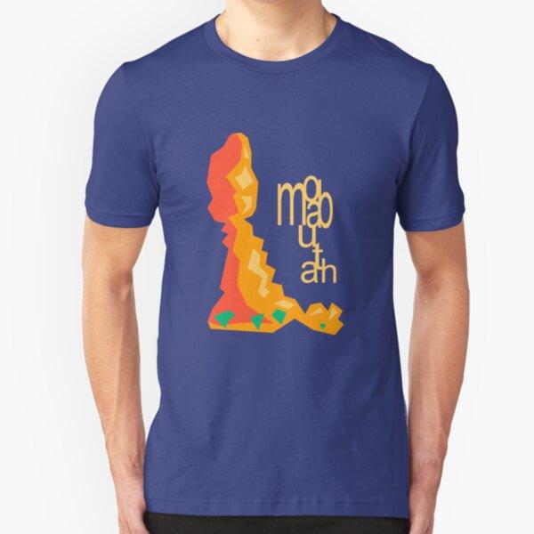 Balanced Rock Illustration Moab Utah Slim Fit T-Shirt