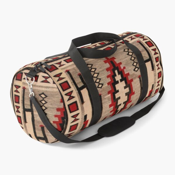 1925 NAVAJO INDIAN TAPESTRY  Duffle Bag
