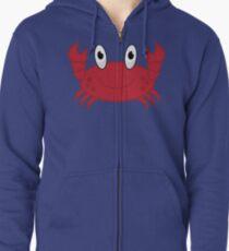 Crab Zipped Hoodie