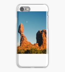 Balanced Rock Holga Style Photograph iPhone Case/Skin