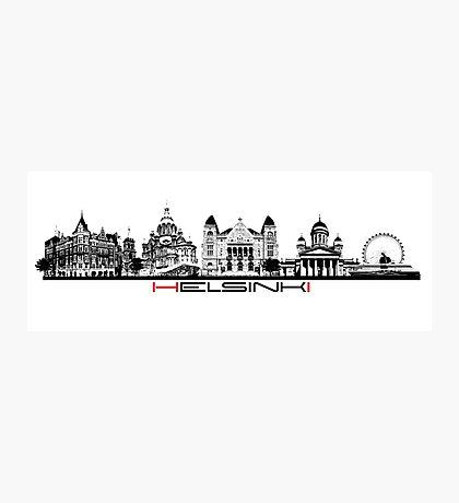 Helsinki skyline Photographic Print