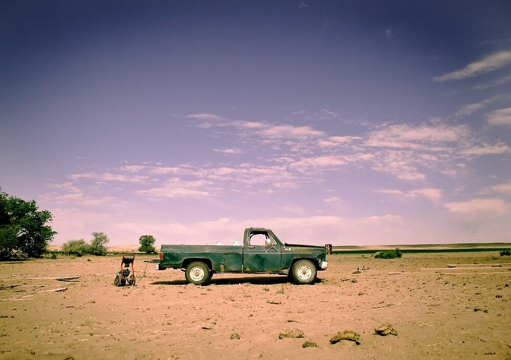 Lonely Pickup by strayfoto