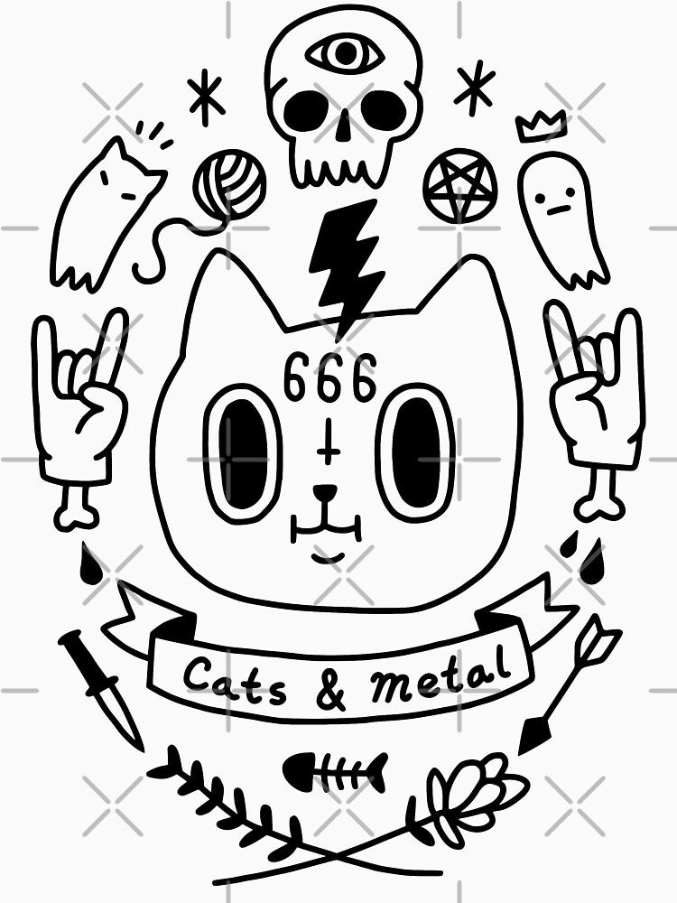 Katzen & amp; Metall von obinsun