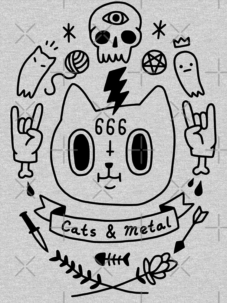 Cats and Metal by obinsun