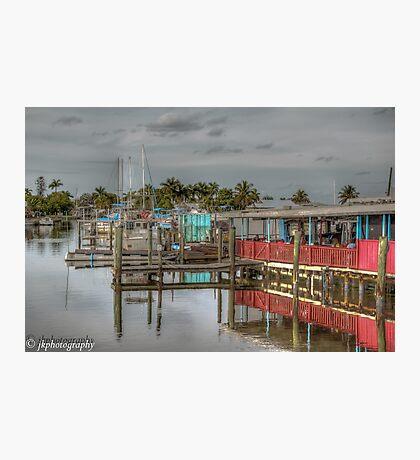 Olde Fish House Marina & Restaurant  Photographic Print