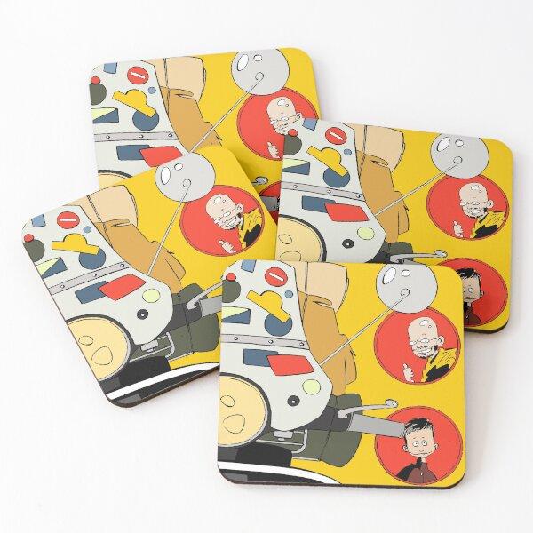 worldvespa by Kioutsioukis Coasters (Set of 4)