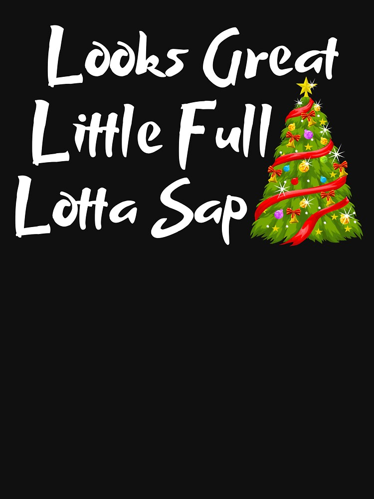 Looks great little full lotta sap cute Christmas tree by ds-4