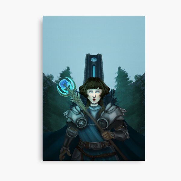 Archmage of Winterhold Canvas Print