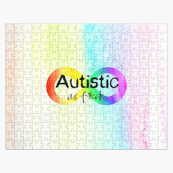 Autistic as F*ck Jigsaw Puzzle