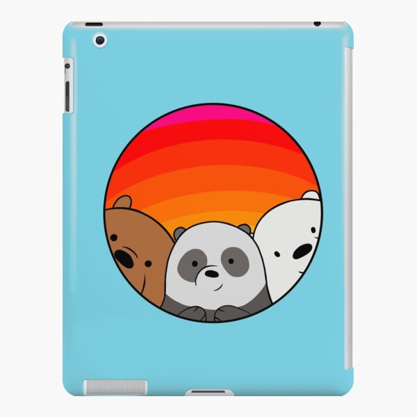 We Bare Bears iPad Snap Case