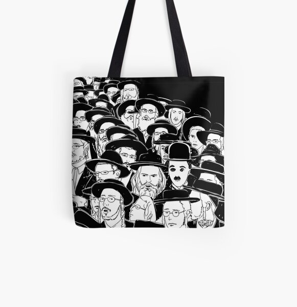 Where is Charlie All Over Print Tote Bag