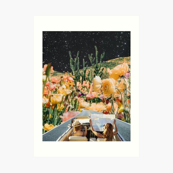 flower road Art Print