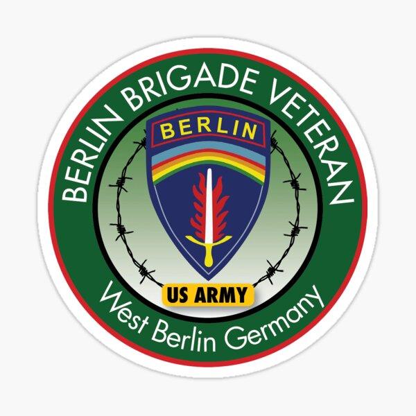 Berlin Brigade Veteran Logo Sticker