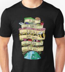 Seien Sie nett zu sich Misha Collins Zitat-Farbe Slim Fit T-Shirt