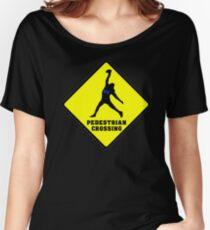 Doug Baldwin - Pedestrian Crossing Women's Relaxed Fit T-Shirt