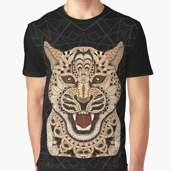 Leopard Graphic T-Shirt