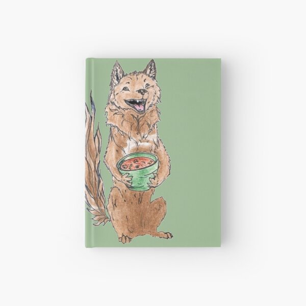 Rouga Roux and his Bowl of Roux Hardcover Journal
