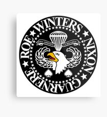 Band of Brothers Crest Metal Print