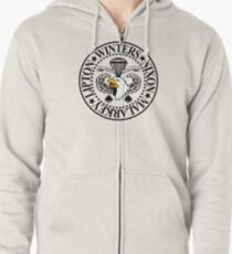 Band of Brothers Crest Zipped Hoodie