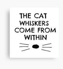 Dan and Phil Cat Whiskers Notebook Canvas Print