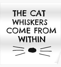 Dan and Phil Cat Whiskers Notebook Poster