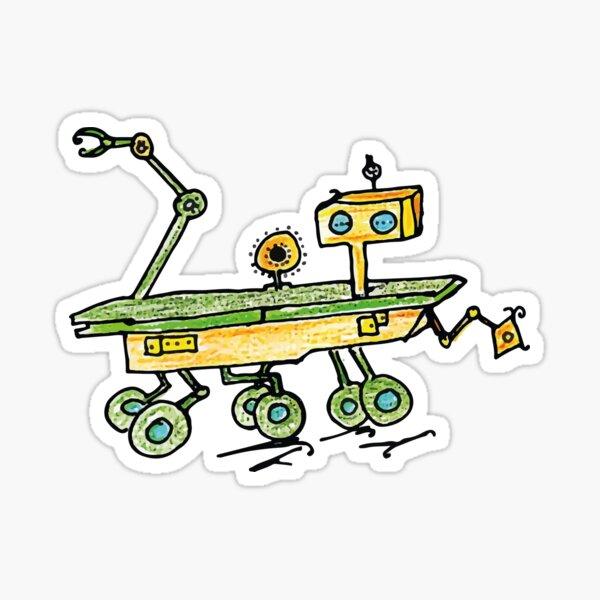 Curiosity, the Rover Sticker