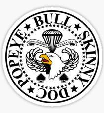 101st airborne stickers redbubble 101st Division Artillery 101st airborne division sticker band of brothers crest sticker