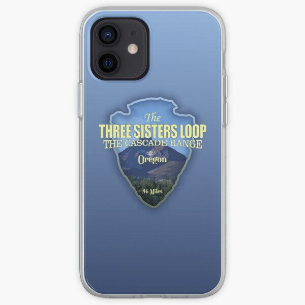 Three Sisters Loop Trail (arrowhead) iPhone Soft Case