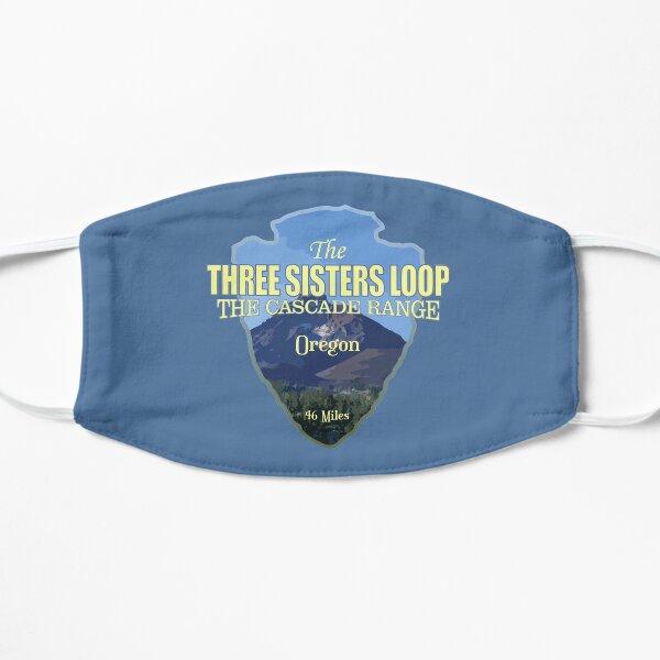 Three Sisters Loop Trail (arrowhead) Flat Mask